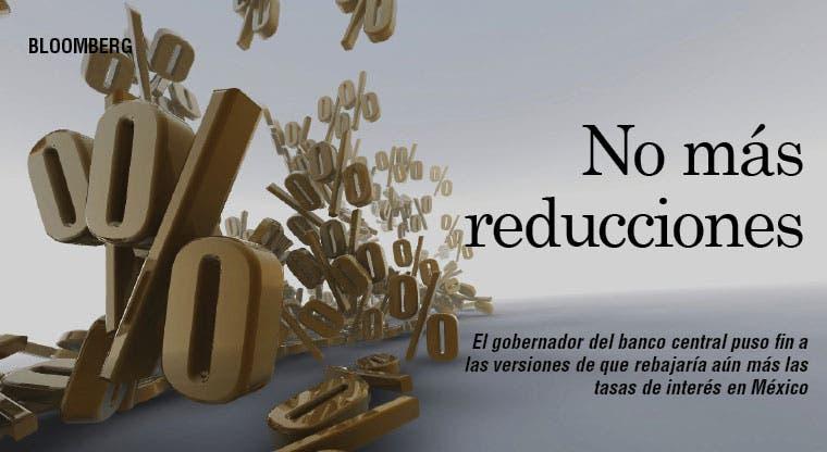 México pone fin a versiones sobre rebaja de tasas
