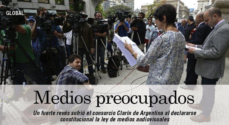 Corte argentina zanja batalla con Clarín