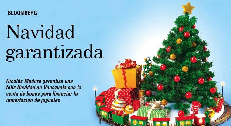 Maduro garantiza Navidad pagando juguetes con bonos