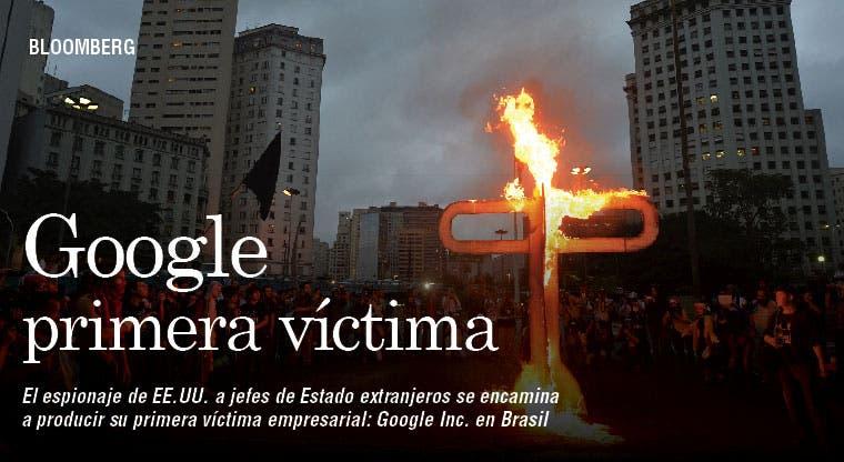 Google en entredicho en Brasil por espionaje