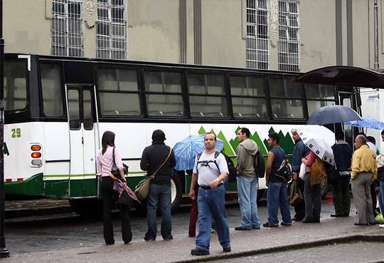 Reubicación temporal de paradas en San José