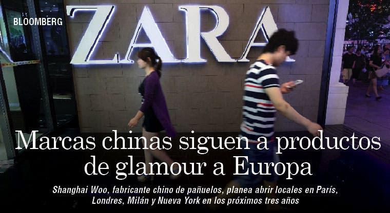 Marcas chinas a Europa y Nueva York