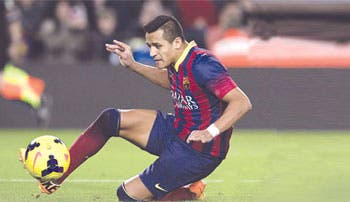 Alexis y Neymar, la solución