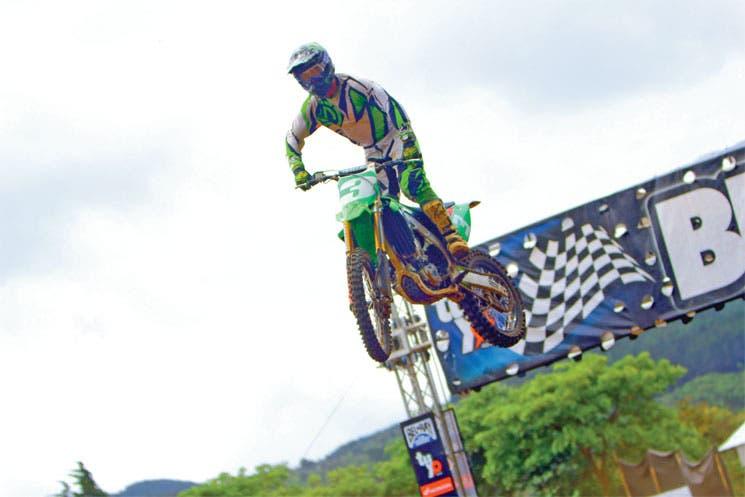 Bowers rey del motocross