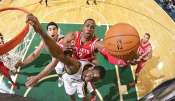 NBA apenas se acomoda .