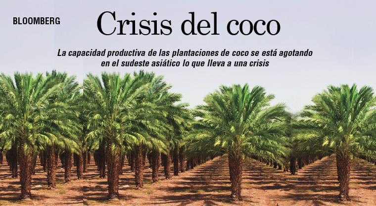 Sudeste asiático enfrenta crisis del coco