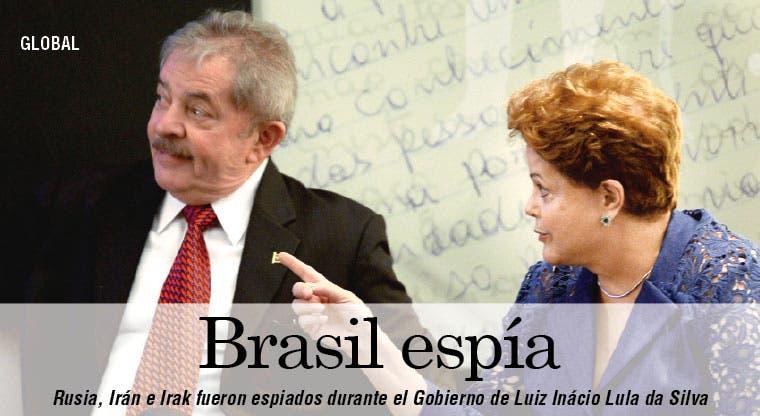 Brasil admite que espía a otros países