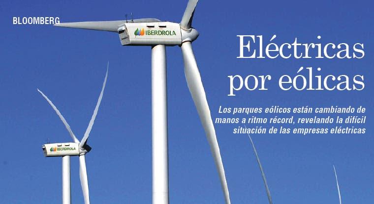 Venta de parques eólicos revela crisis de eléctricas