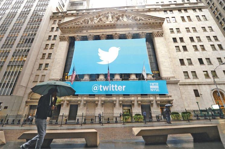 Twitter debutó entre inversores frenéticos
