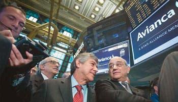 Avianca emite en la Bolsa de Nueva York