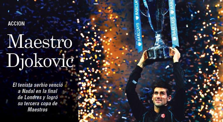 Djokovic, otra vez Maestro