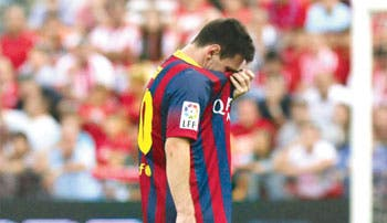 Dos meses sin Messi