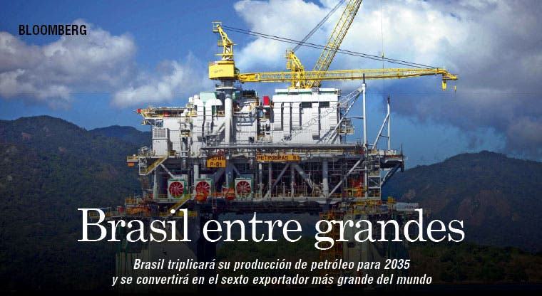 Brasil será un gran exportador de petróleo