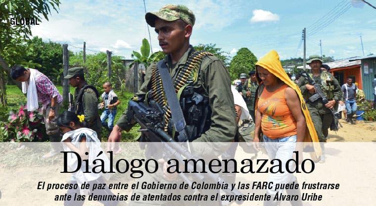 Atentado contra Uribe frustraría proceso de paz