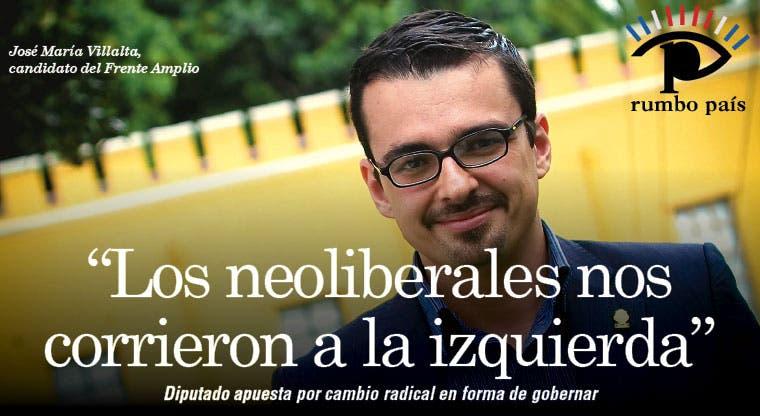 """""""Los neoliberales nos corrieron a la izquierda"""""""