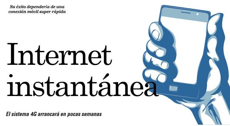 Internet instantánea