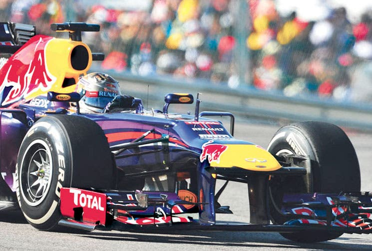Vettel, hombre récord