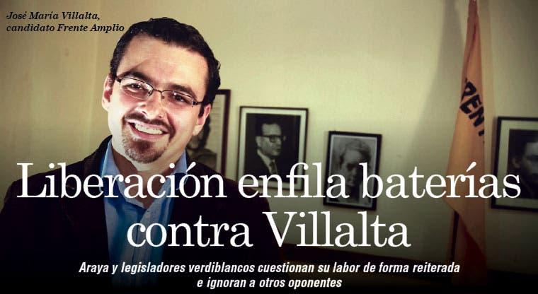 Liberación enfila baterías contra Villalta