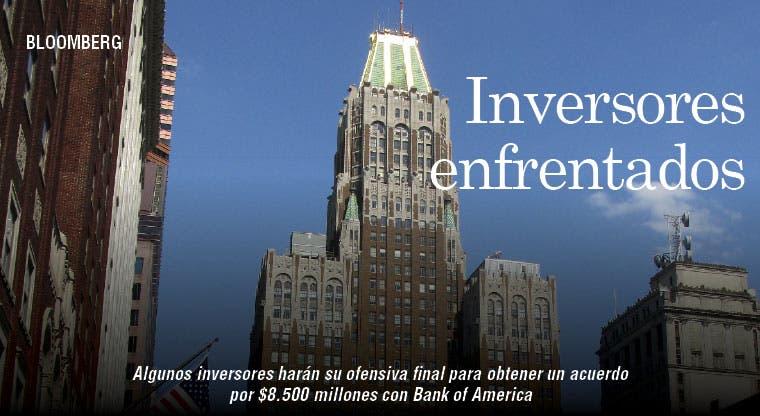Acuerdo con Bank of America enfrenta a inversores