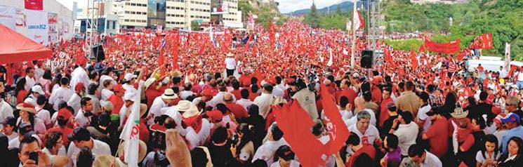 Cerró campaña electoral en Honduras