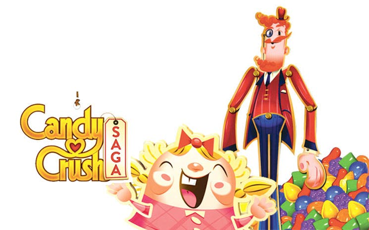 Candy Crush cumplió un año en los móviles