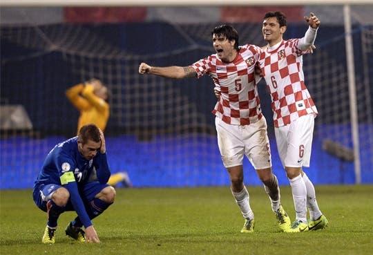 Croacia de camino a  Brasil 2014