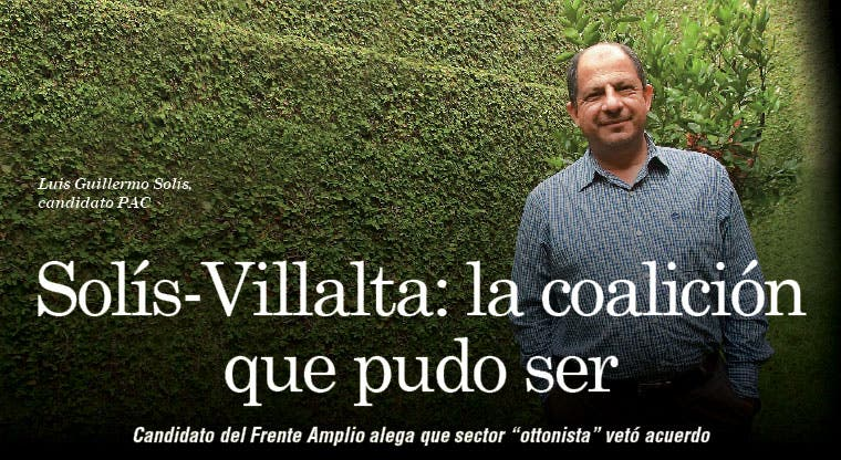 Solís-Villalta: la coalición que pudo ser