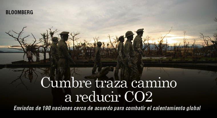 Cumbre traza camino a reducciones de CO2
