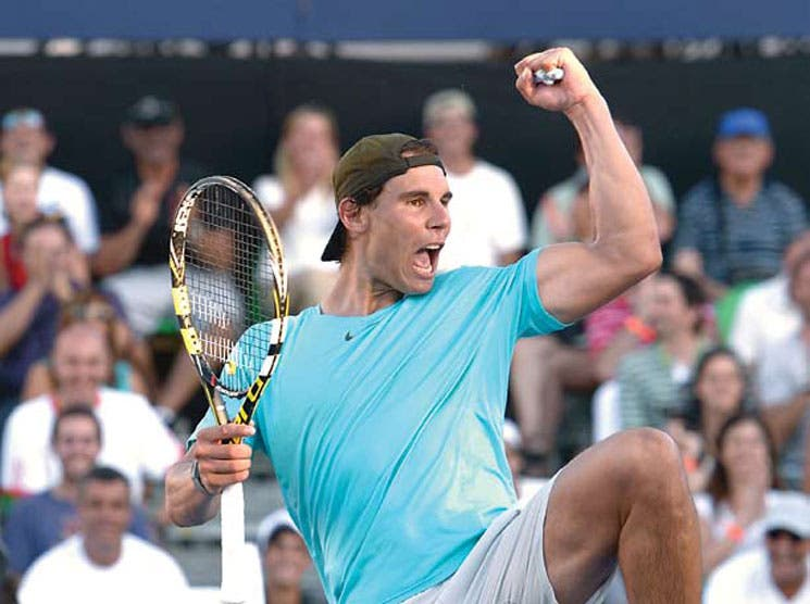 Nadal hincó a Djokovic