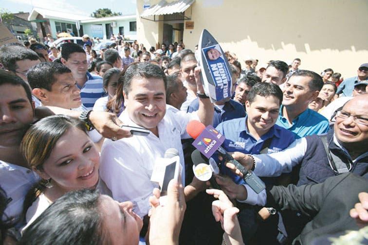 Hernández electo nuevo presidente en Honduras