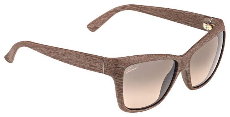 Gucci crea gafas de madera líquida