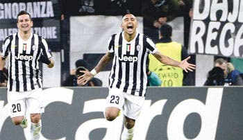 Vidal reengancha a la Juve