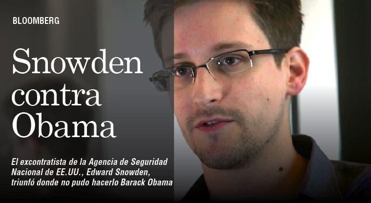 Snowden ganó donde Obama fracasó