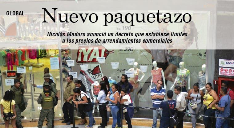 Maduro pone límites a alquileres