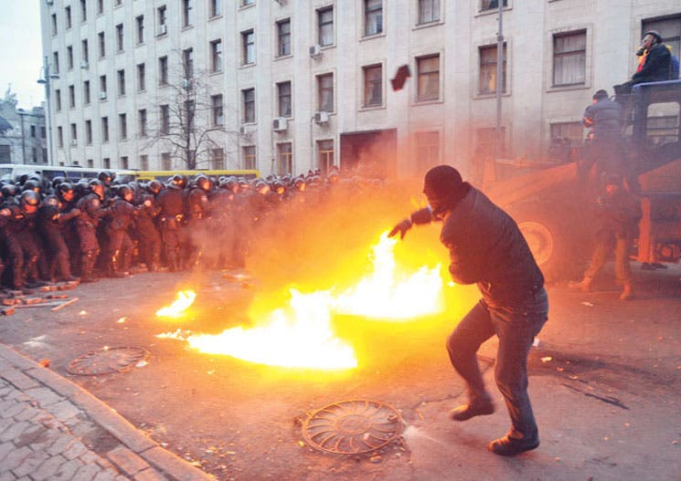 Oposición ucraniana  exige acceso a UE