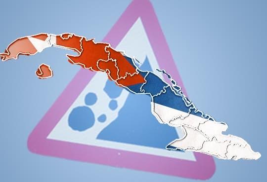 135 derrumbes en La Habana por lluvias