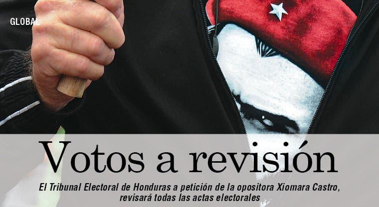 Tribunal electoral hondureño revisará votación