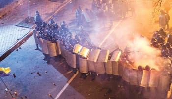 Avizora golpe de estado en Ucrania