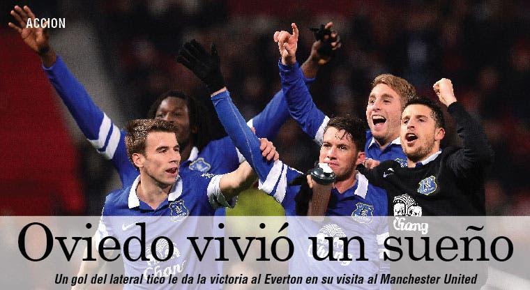Oviedo silenció el Old Traford