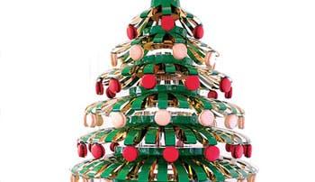 Grandes diseñadores reinventan el árbol de Navidad