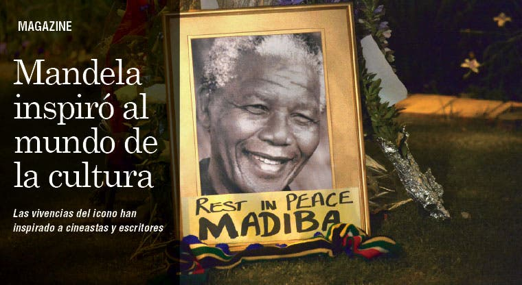 Mandela, un icono cuya vida inspiró al mundo de la cultura
