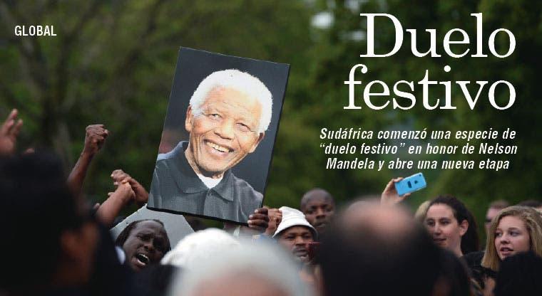 Sudáfrica comienza su duelo festivo por Mandela