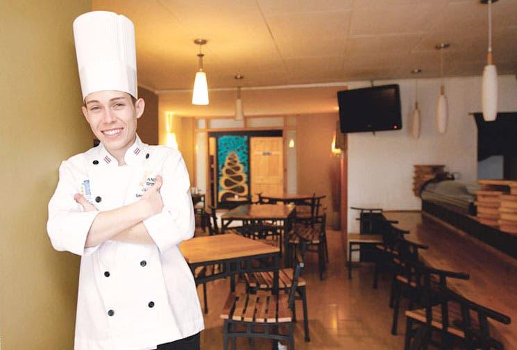Chef tico brilla en la pantalla chica