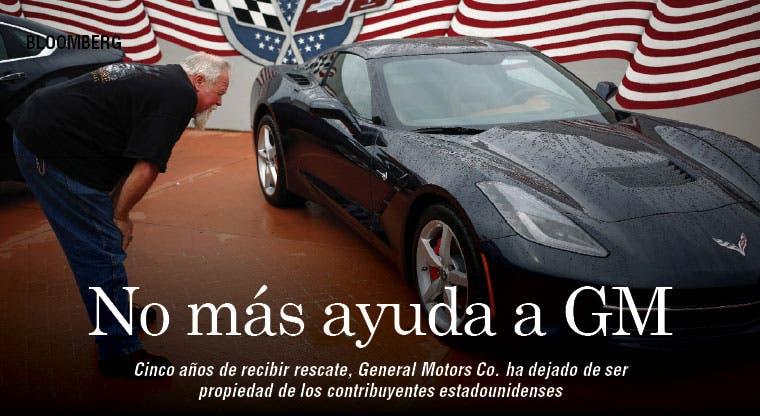 Rescate de GM llegó a su fin