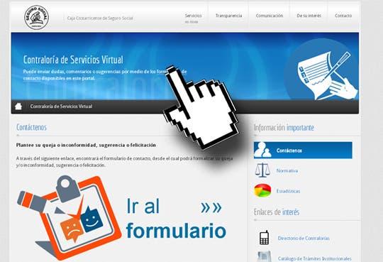 Contraloría virtual beneficia asegurados de la Caja