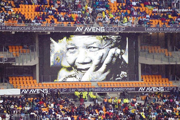 Miles no pudieron despedir a Mandela