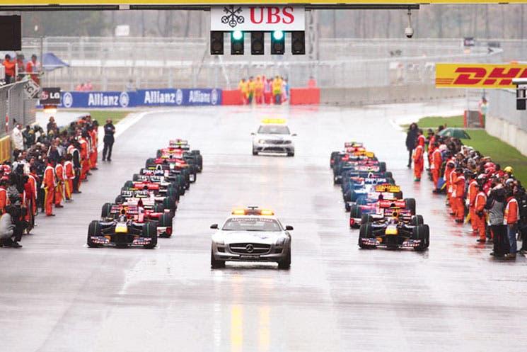 Pocos asientos libres en la F1