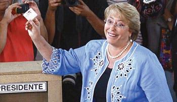 Bachelet vuelve a la presidencia
