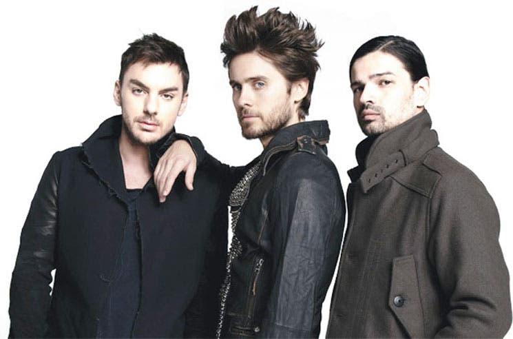 Thirty Seconds to Mars anuncia concierto en el país