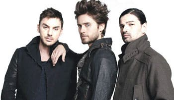Thirty Seconds to Mars anuncia concierto en el país